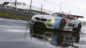 Att köra i regn är nytt för Forza serien. Det både skoj och farligt men samtidigt verkligt.