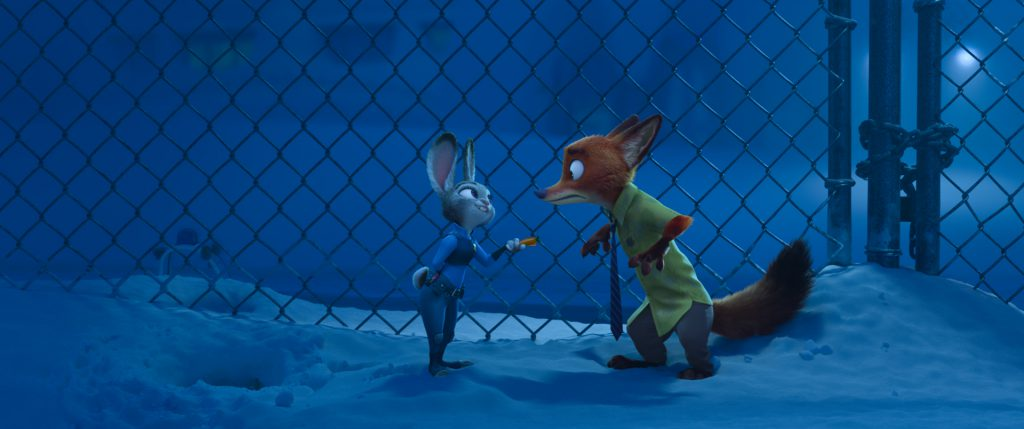 ZOOTOPIA – Pictured (L-R): Judy Hopps, Nick Wilde. ©2016 Disney. All Rights Reserved.