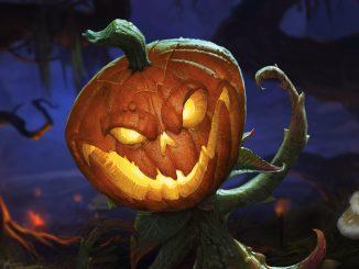 Blizzard Halloween Pumpkin