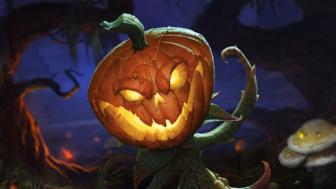 Blizzard Halloween Pumpkin