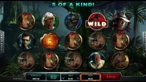 Jurassic Park slot game spelochfilm.se