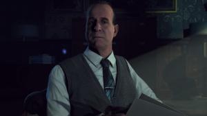 Besöken med psykologen dr. Hill påverkar spelets resultat.