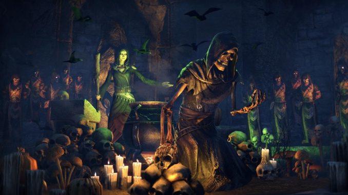 Elder Scrolls Halloween